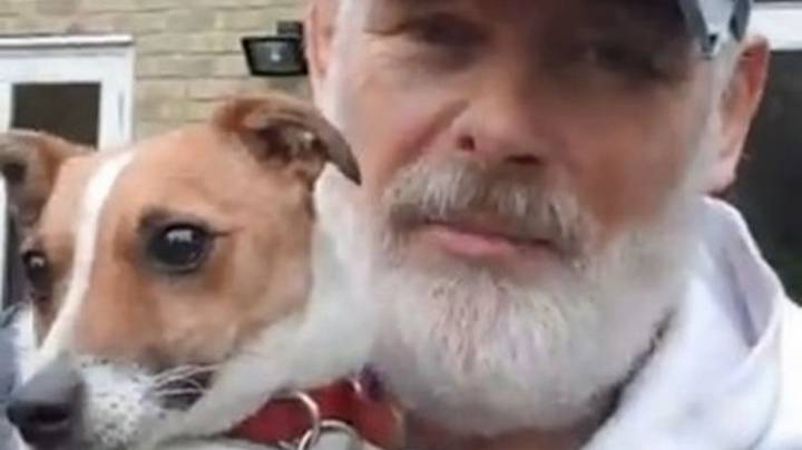 Dog Owner Reunited With Pet That Spent Three Days Trapped In Foxhole