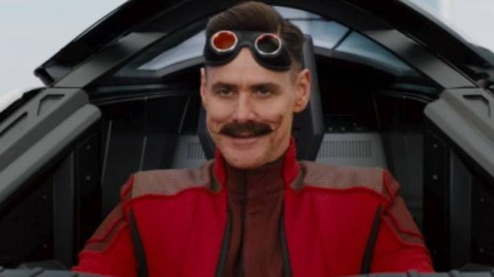 First Look At Jim Carrey As Dr Robotnik In Sonic The Hedgehog Movie