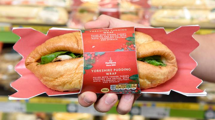 Morrisons Launches Yorkshire Pudding Christmas Dinner Meal Deal Wrap