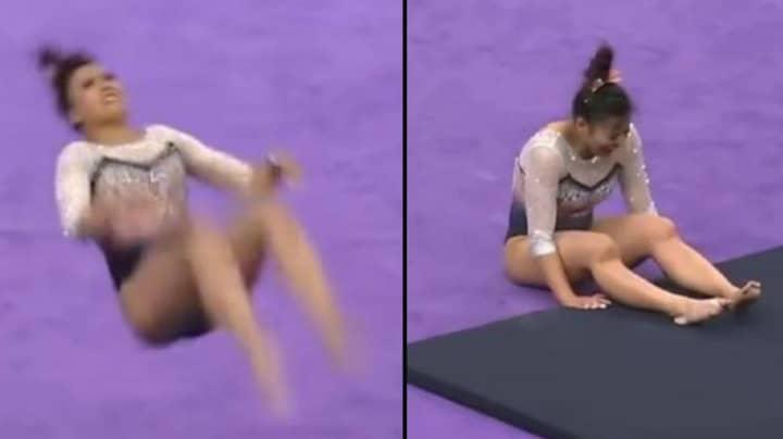 Auburn University Gymnast Breaks Both Legs And Suffers Double Knee Dislocation In Horror Landing