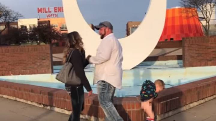 Boy Pees As Mum Receives Romantic Marriage Proposal