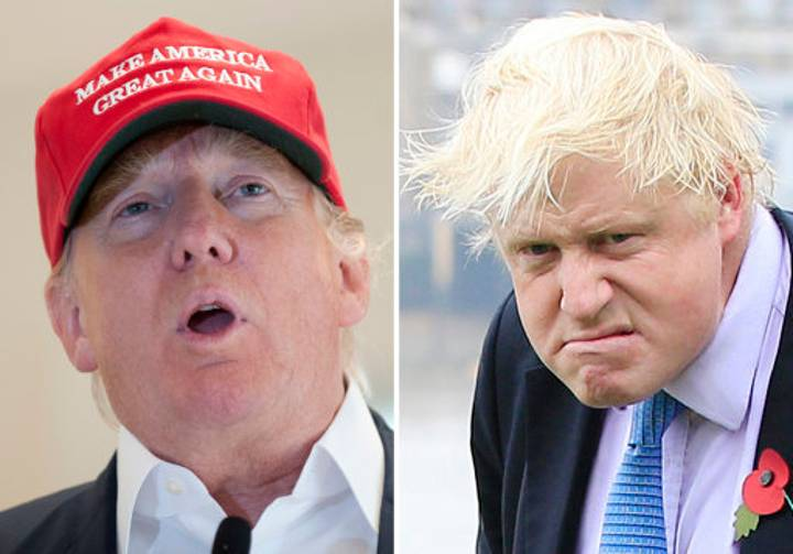 Boris Johnson Reveals That He Was Mistaken For Donald Trump In Newcastle