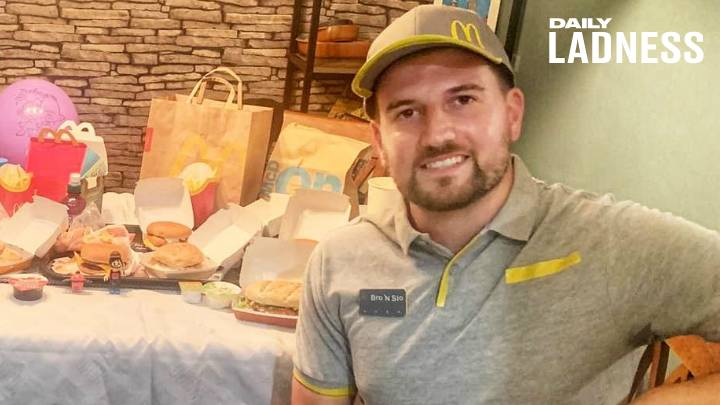 Dad Recreates Almost All Of McDonald's Menu During Lockdown For Competition
