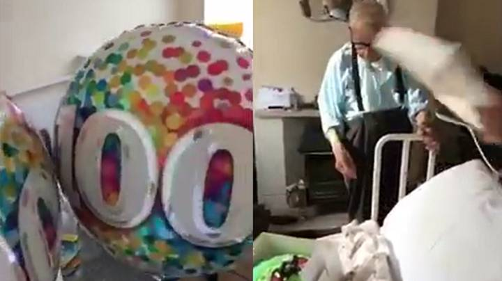 LAD Gets Community Involved To Celebrate Lonely Man's 100th Birthday