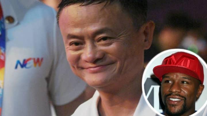 China's Richest Man Jack Ma Wants To Fight Floyd Mayweather