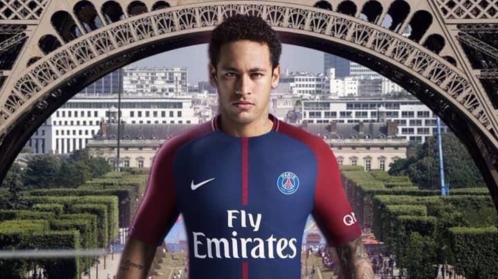 Neymar Agrees Sensational Five-Year Deal With Paris Saint-Germain