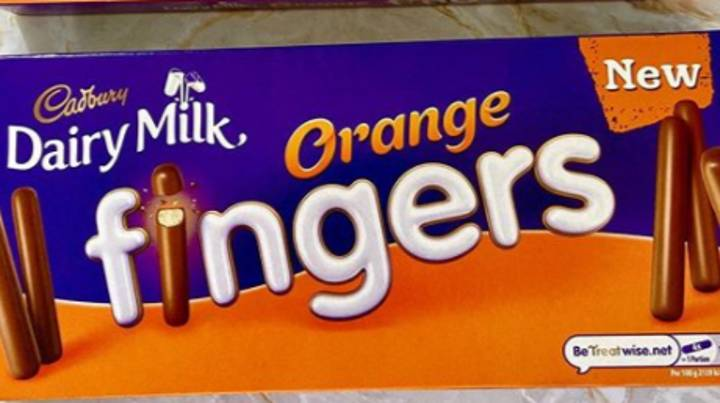 Cadbury Now Sells Chocolate Orange Buttons And Fingers