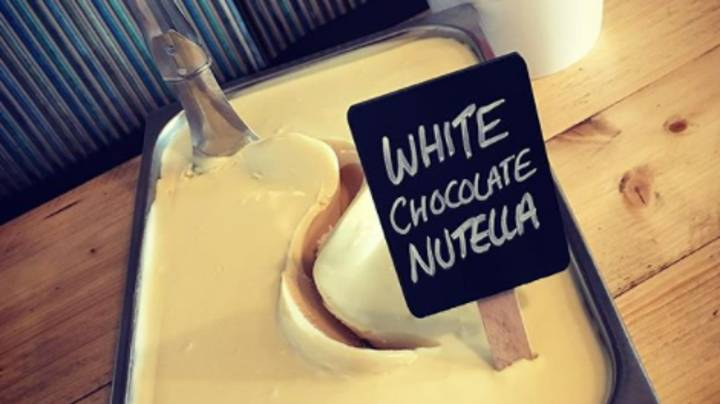 White Chocolate Nutella Ice Cream Exists And It Sounds Like Heaven On A Spoon