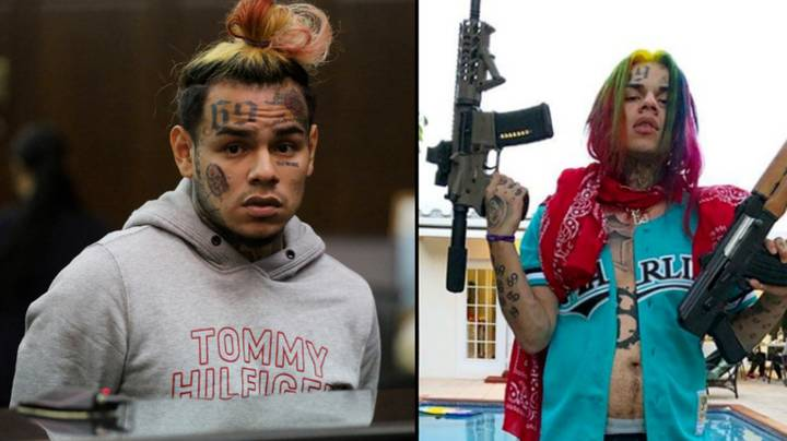 Video Emerges Of Tekashi 6ix9ine Row With Chief Keef's Cousin