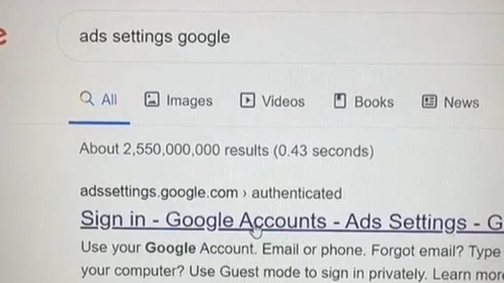 Woman Shows How To Find Out What Google Knows About You
