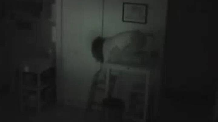 Man Sets Up Camera And Finds Woman Is Living In His Cupboard