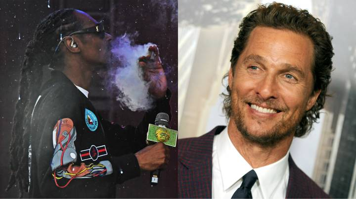 Snoop Dogg Got Matthew McConaughey High Without Him Knowing On Set