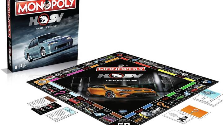 Get Ready To Rev Your Engines Because A Holden HSV Edition Of Monopoly Exists