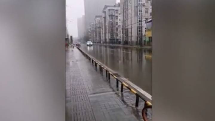 Eerie Footage Shows 'Ghost City' In China's Wuhan Amid Coronavirus Outbreak