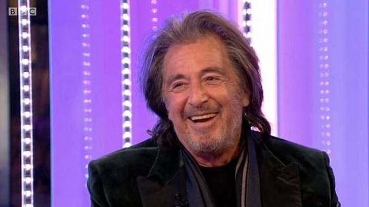 Al Pacino Makes 'Painful' Appearance On BBC One's The One Show
