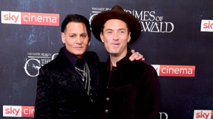 Jude Law Says Johnny Depp's Departure From Fantastic Beasts Was 'Unusual'