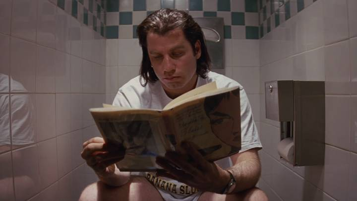 Someone Figured Out Why Vincent Vega Is Always On The Toilet In 'Pulp Fiction'