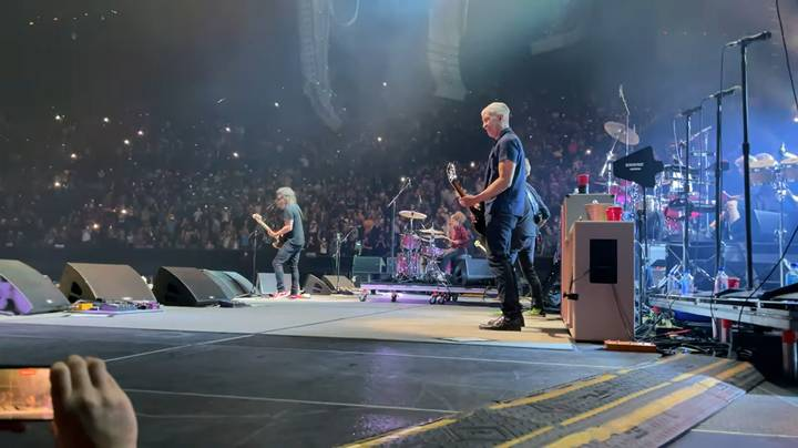 Watch The Moment 11-Year-Old Nandi Bushell Finally Meets The Foo Fighters