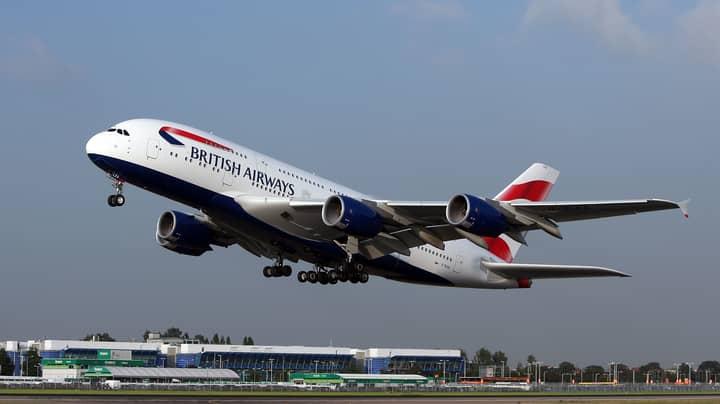 Storm Ciara Helps New York To London British Airways Flight Break Speed Record
