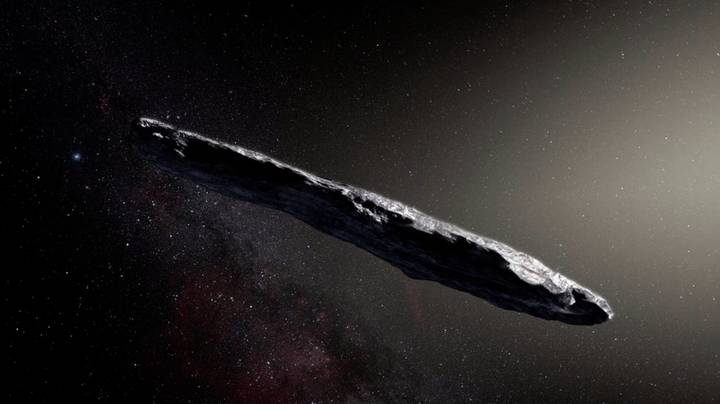 Stephen Hawking To Find Out If ​Oumuamua Is Being Manned By Aliens