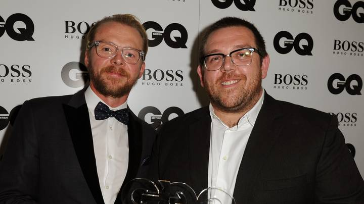 Simon Pegg And Nick Frost Share 'Plan' To Tackle Coronavirus
