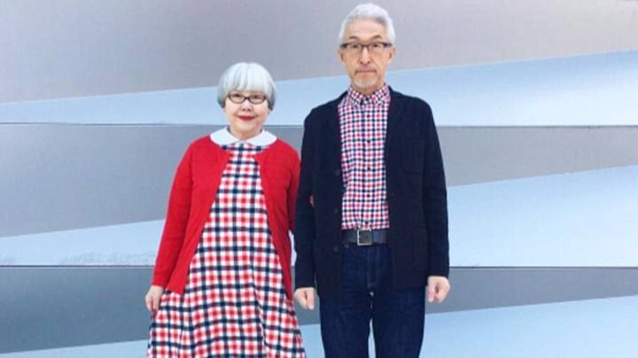 Cute Couple Have Worn Matching Outfits Everyday For 37 Years
