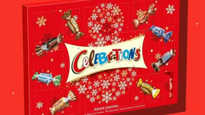 ​Celebrations Changes Advent Calendar After People Said They 'Ruined' Christmas