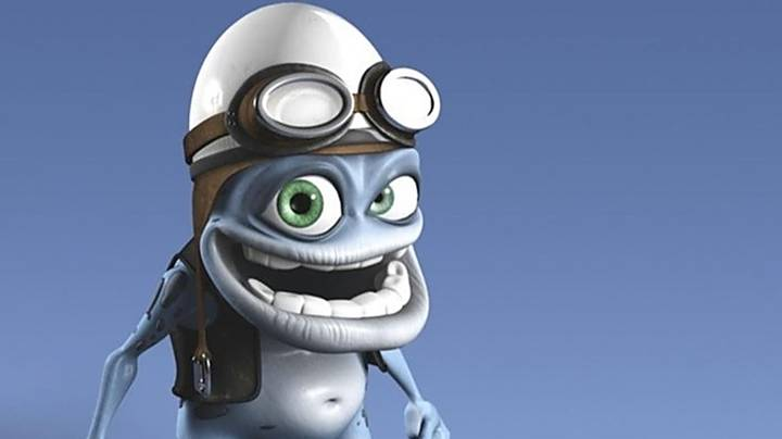 People Are Just Discovering That The Crazy Frog Had His Penis Out The Whole Time