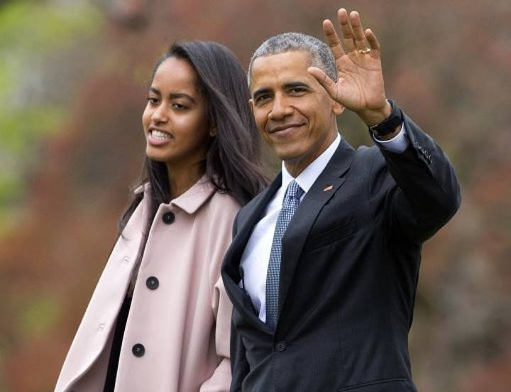 Here's How Obama Punished His Daughter For Smoking Weed