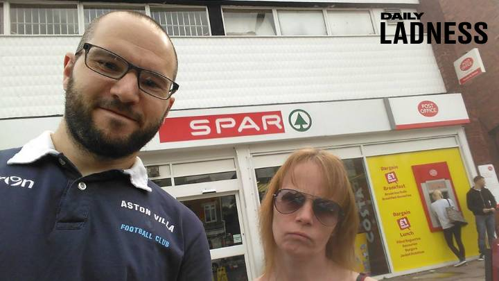 Man Who Promised Girlfriend Spa Weekend Takes Her On Tour Of Spar Shops Instead