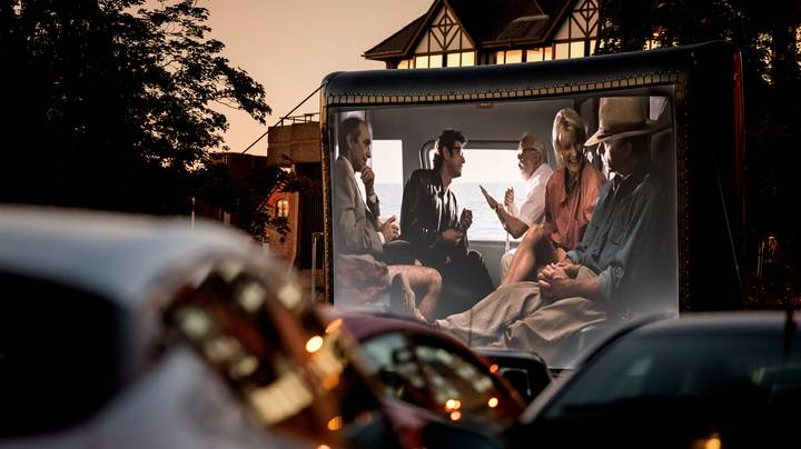 Drive-In Cinema Cancels As Carpark Is In England But Screen And Toilets In Wales