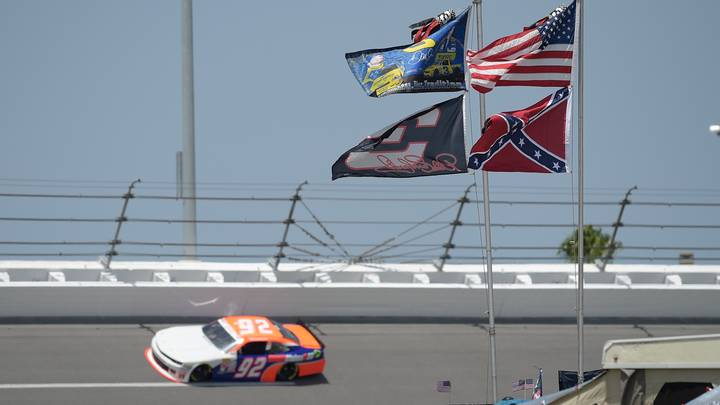 NASCAR Bans The Flying Of The Confederate Flag At All Events