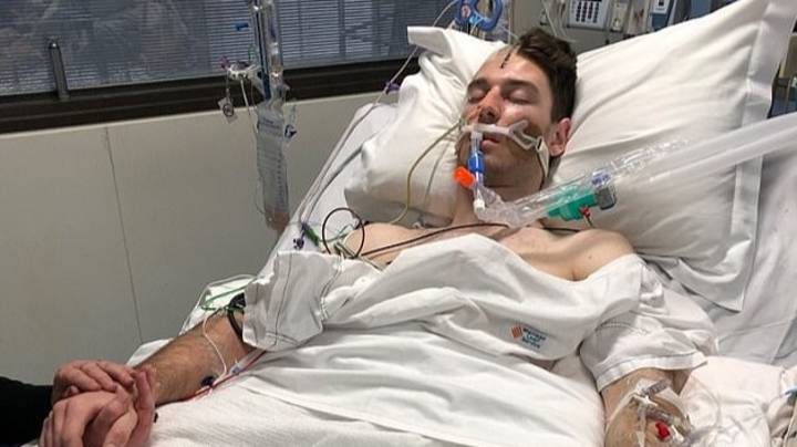 'Very Fit' 21-Year-Old Man Left Fighting For His Life After Suffering Stroke