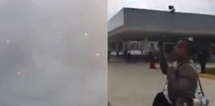 Footage Of UFOs Hovering Over Mexico And US Border Deleted From Internet