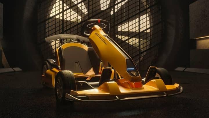 Lamborghini Teams Up With Go-Kart Company To Produce Mini-Huracán