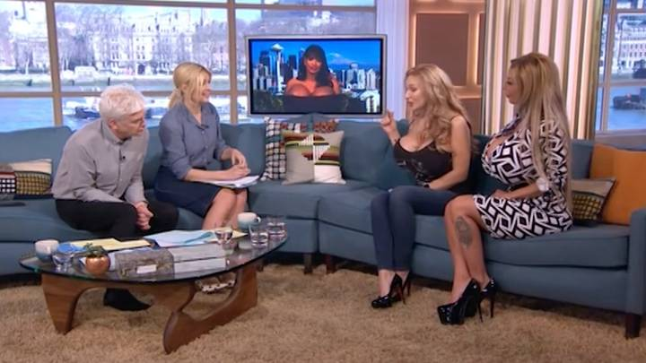 Holly And Phil Shocked As Women Discuss Supersize Breast Implants On 'This Morning'