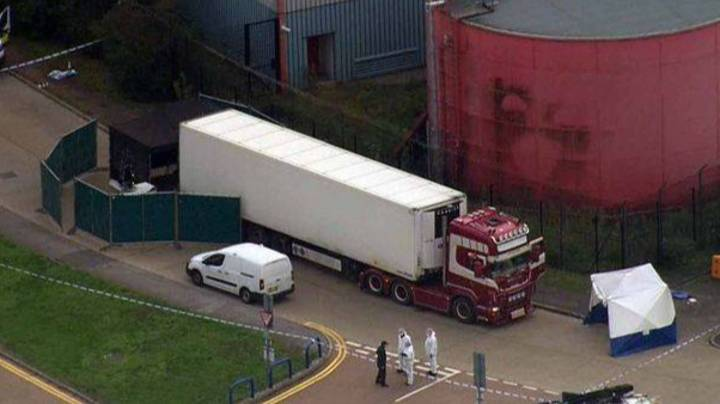 39 Dead Bodies Found Inside Lorry Container In UK