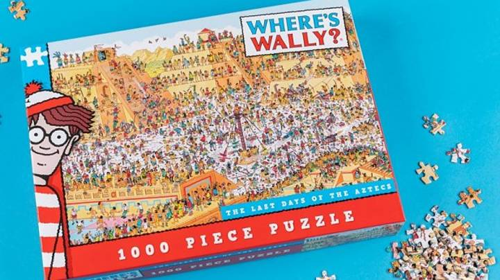 Challenge Yourself With A 1,000-Piece Where's Wally Puzzle