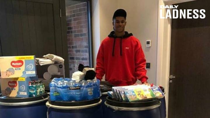 Marcus Rashford Makes Huge Donations To Homeless Charities For Young People