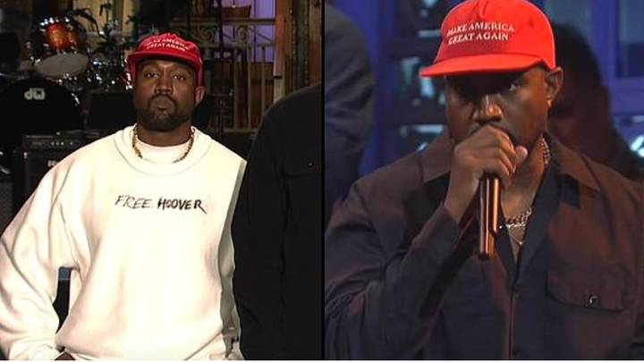 Kanye West Goes On Pro-Donald Trump Rant On 'Saturday Night Live'