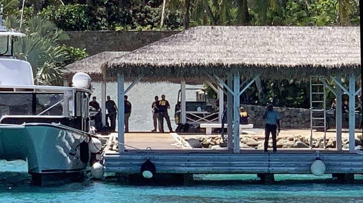 Jeffrey Epstein's Private Caribbean Island Swarmed By FBI Agents