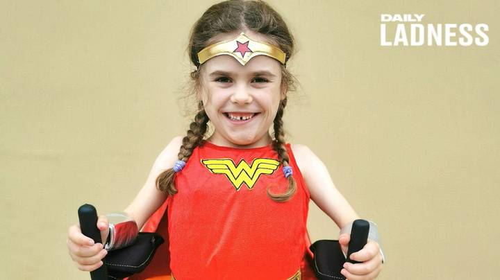 Girl Who Will Lose Ability To Walk Completes Gruelling 'Marathon Challenge'