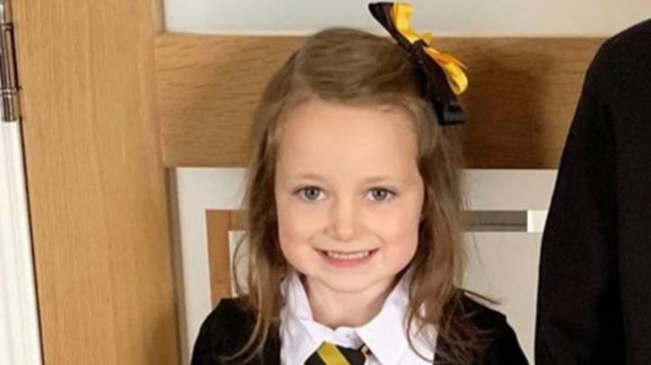 Five-Year-Old's Gruelling First Day Back At School Goes Viral