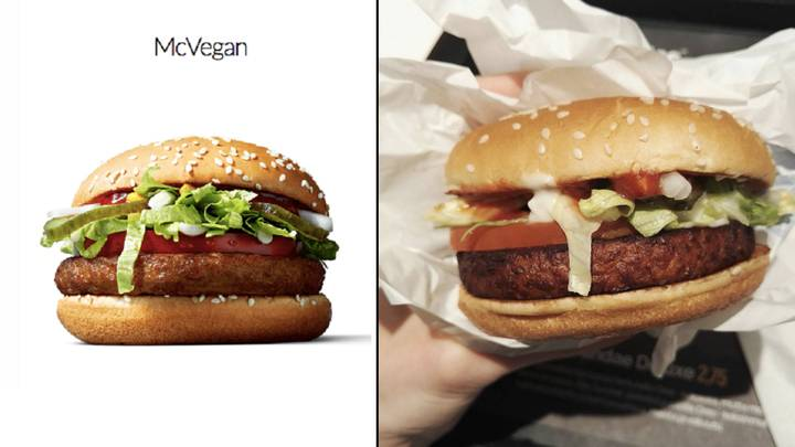 McDonald's Are Currently Trialing The McVegan Burger At One Restaurant