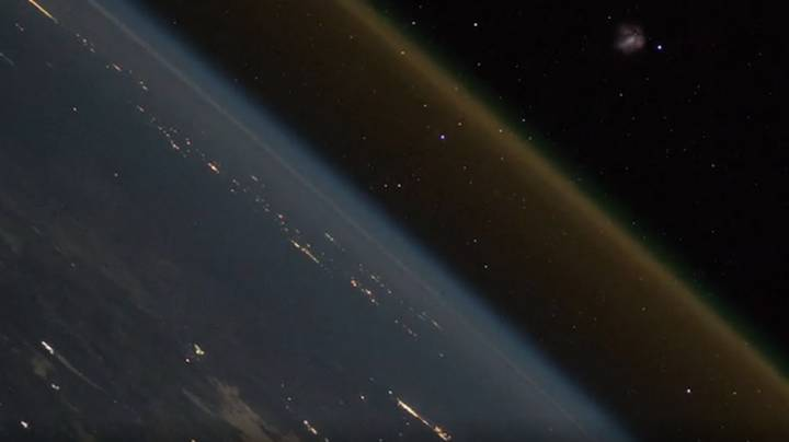 International Space Station Footage Showing Rocket Launch From Earth Goes Viral