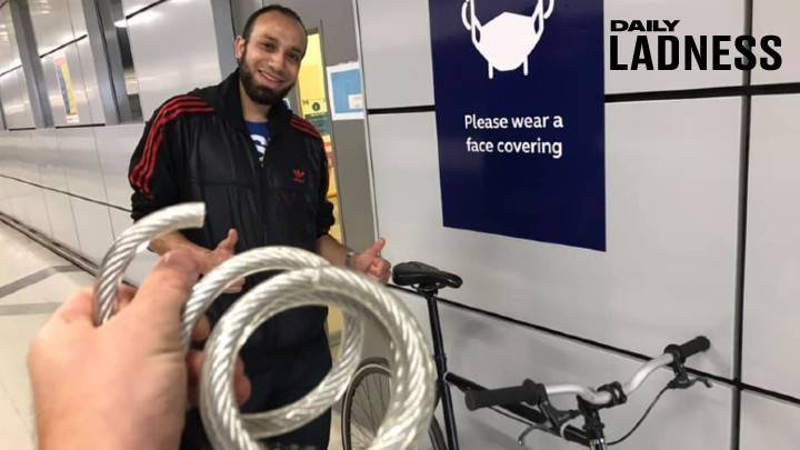 'Legend' Railway Worker Saves Bike From Thief And Waits Hours After Shift To Return It To Owner