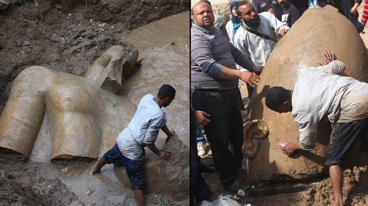 A 3,000-Year-Old Statue Of Pharaoh Ramses II Has Been Discovered