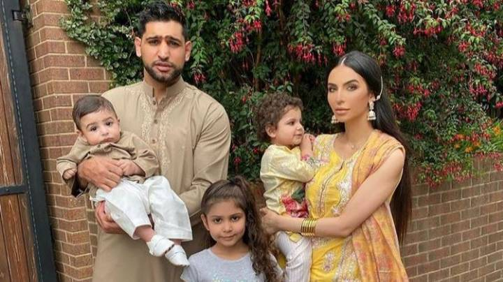 Amir Khan Gifts Baby Son £30,000 Adult-Sized Rolex Watch For First Birthday