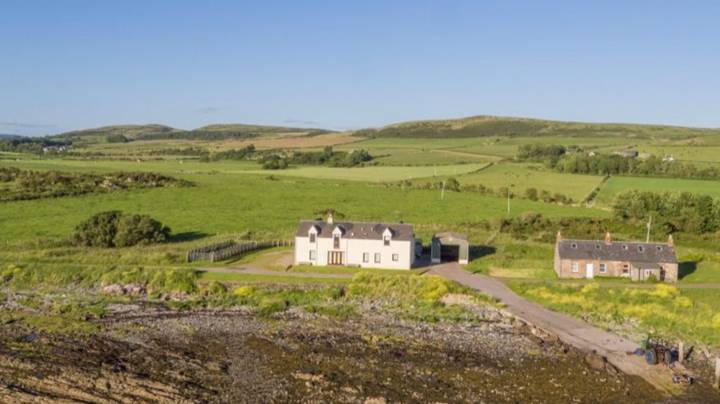 Uninhabited Island With 660 Acres Of Land Is On The Market For £1.4m
