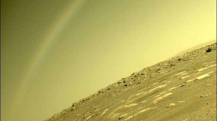 NASA Explains 'Rainbow' Spotted In The Sky On Mars